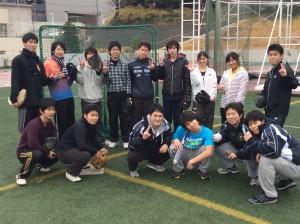 ソフトボール日吉集合1